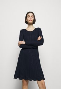 M Missoni - ABITO - Gebreide jurk - dark blue - 3