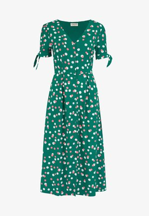 VERONICA DAPPLED SPOT - Day dress - green