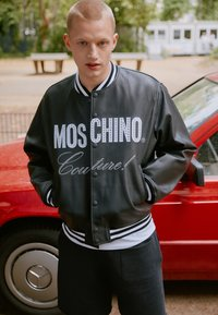 MOSCHINO - Leather jacket - black - 3