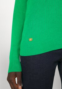 Lauren Ralph Lauren - TURTLE NECK - Neule - vivid emerald - 4