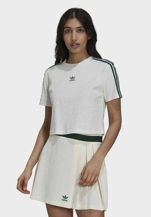 CROPPED ORIGINALS CROP - T-shirt print - white