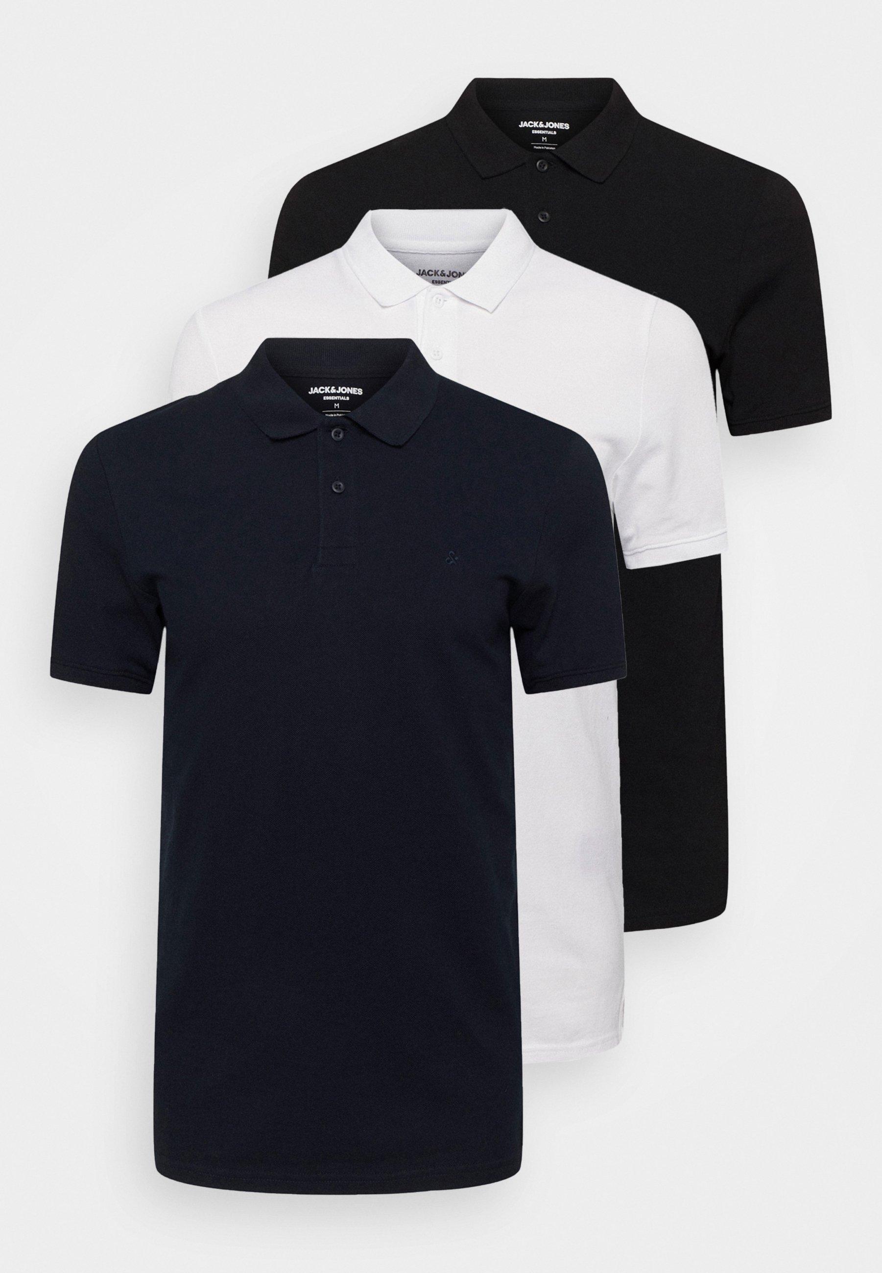 Men JJEBASIC 3 PACK - Polo shirt