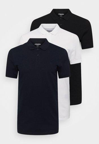 JJEBASIC 3 PACK - Polo shirt - white