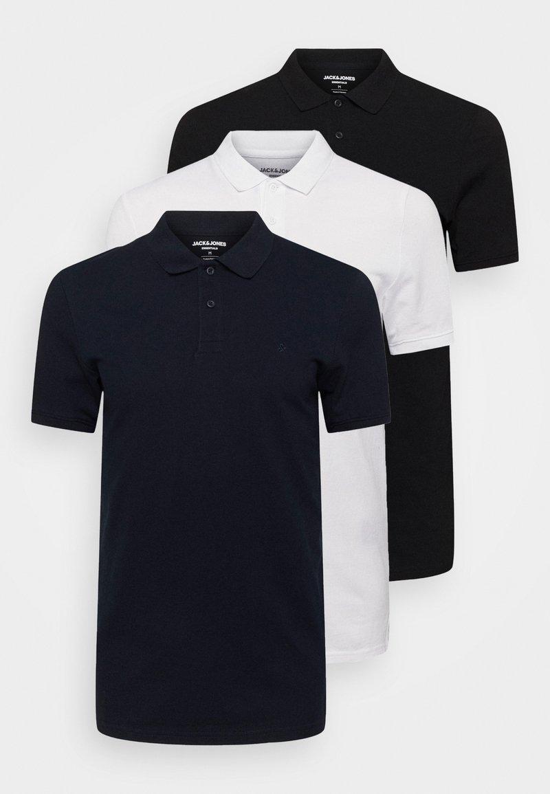 Jack & Jones - JJEBASIC 3 PACK - Koszulka polo - white