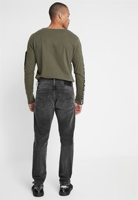 G-Star - 3301 SLIM - Džíny Slim Fit - nero black stretch denim - antic charcoal - 2