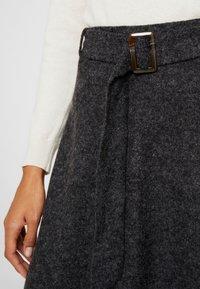 Esprit Collection - SKIRT - A-snit nederdel/ A-formede nederdele - gunmetal - 3