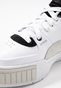 Puma - CALI SPORT MIX - Baskets basses - white/black
