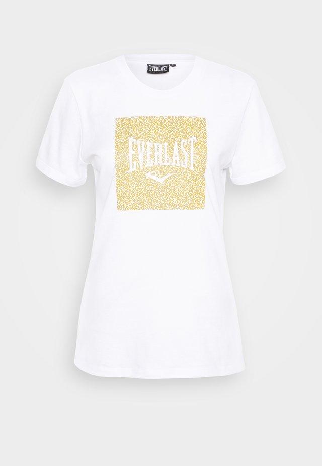 BRYANT - Print T-shirt - white