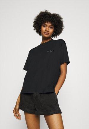 Tričko s potlačou - black