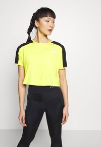 The North Face - W ACTIVE TRAIL - Print T-shirt - lemon - 0