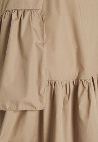 Missguided Maternity - RUFFLE PANEL DRESS - Day dress - brown - 2
