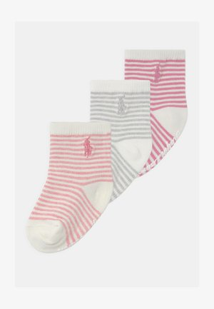 JAMES 3 PACK - Socks - pink