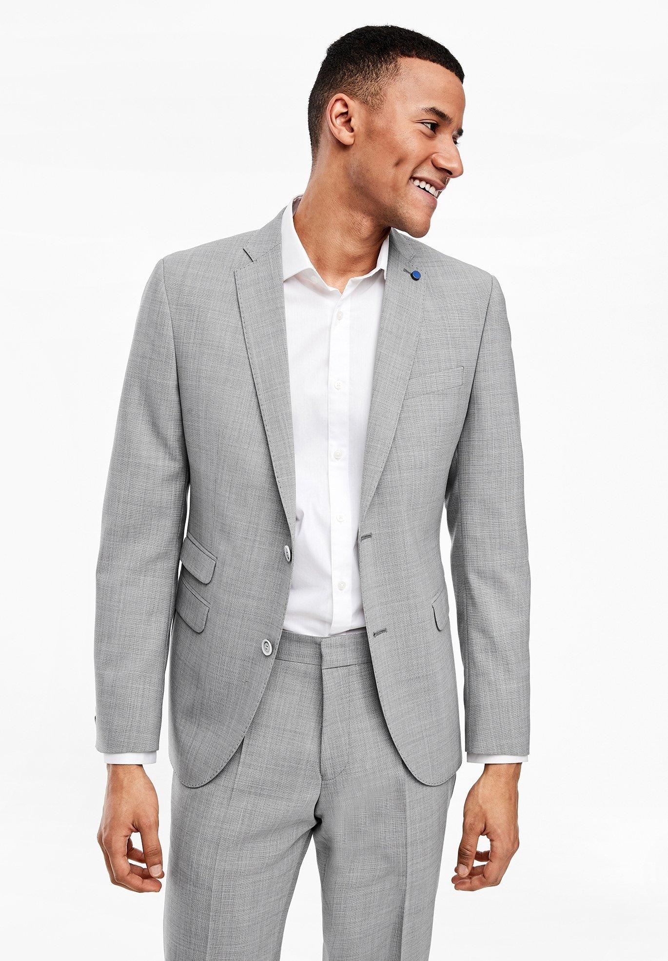 Homme Veste de costume - light grey