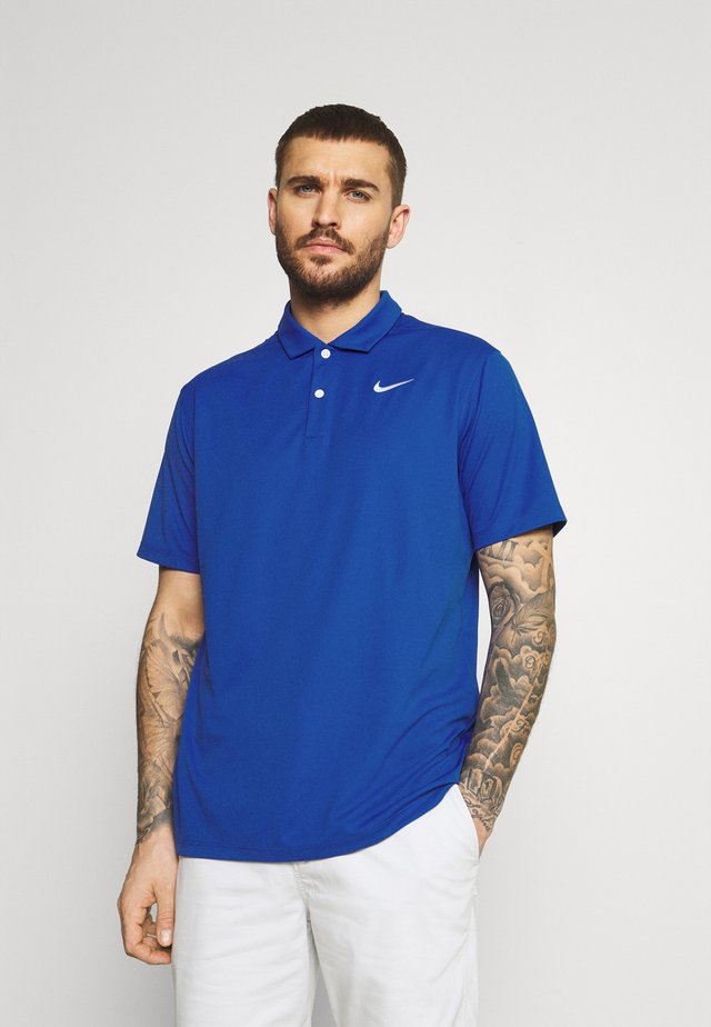 DRY FIT ESSENTIAL SOLID - Sportshirt - game royal/white