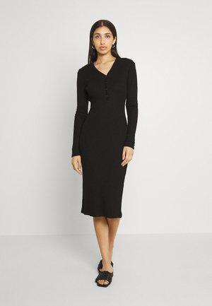ELOISE DRESS - Jerseyklänning - black