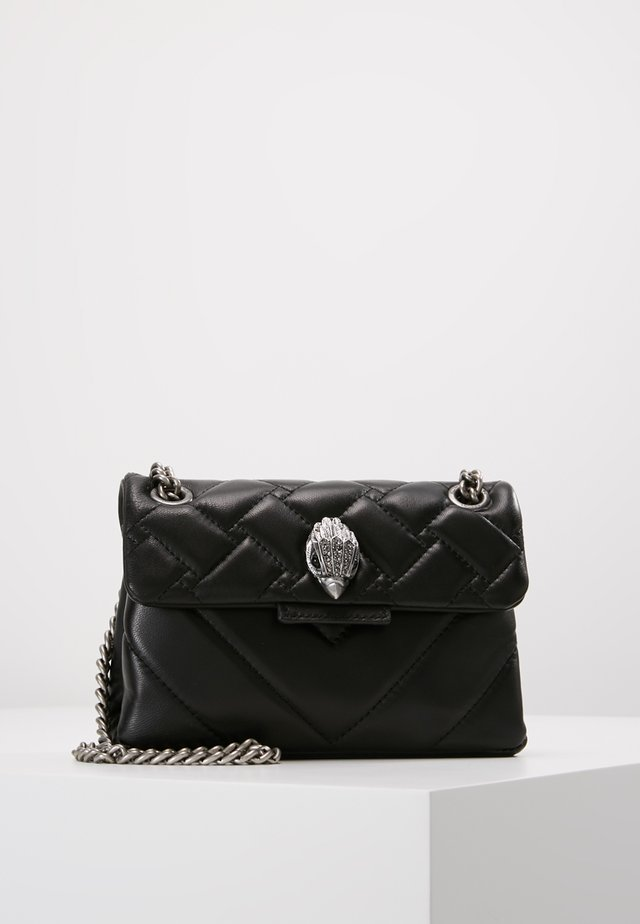 MINI KENSINGTON BAG - Umhängetasche - black