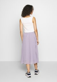 NA-KD - ANKLE LENGTH PLEATED SKIRT - A-Linien-Rock - purple