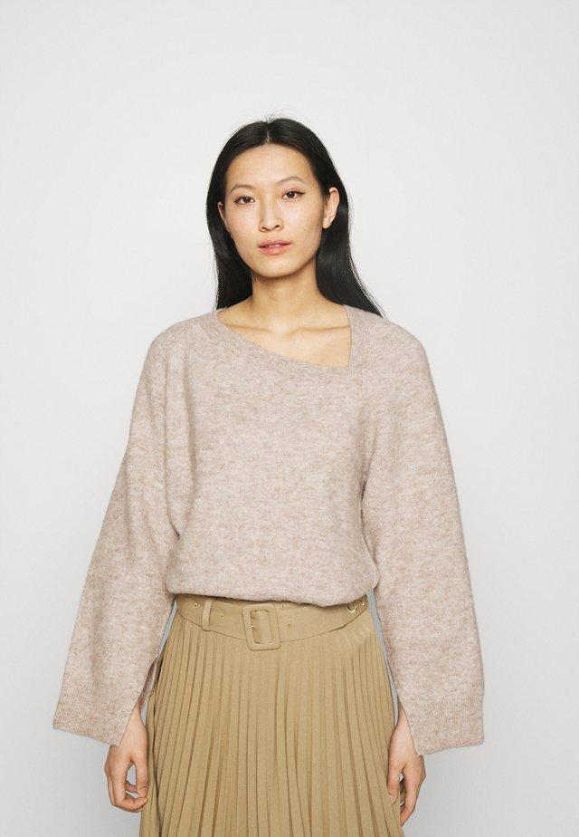 SWEATER - Pullover - oat melange