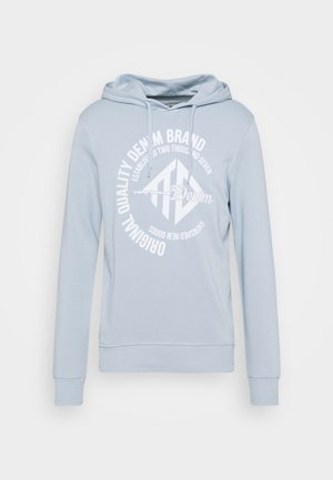 HOODY WITH PRINT - Mikina - foggy blue
