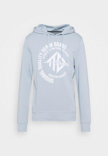 HOODY WITH PRINT - Sweatshirt - foggy blue