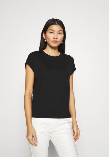 SUDELLA - Jednoduché triko - schwarz