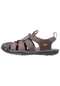 Keen - CLEARWATER CNX - Walking sandals - raven/tortoise shell - 0
