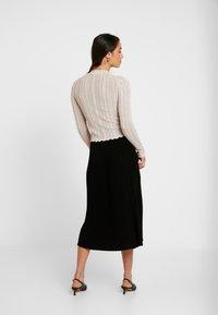 Forever New - PLEATED SKIRT - A-line skirt - black - 2