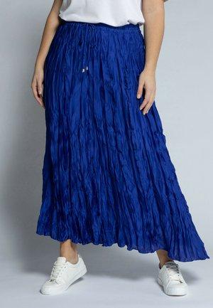 A-line skirt - lapisblau
