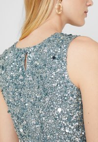 Lace & Beads - PICASSO - Top - teal - 4