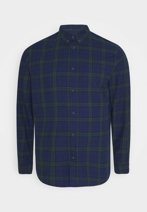 Košile - dark blue/green
