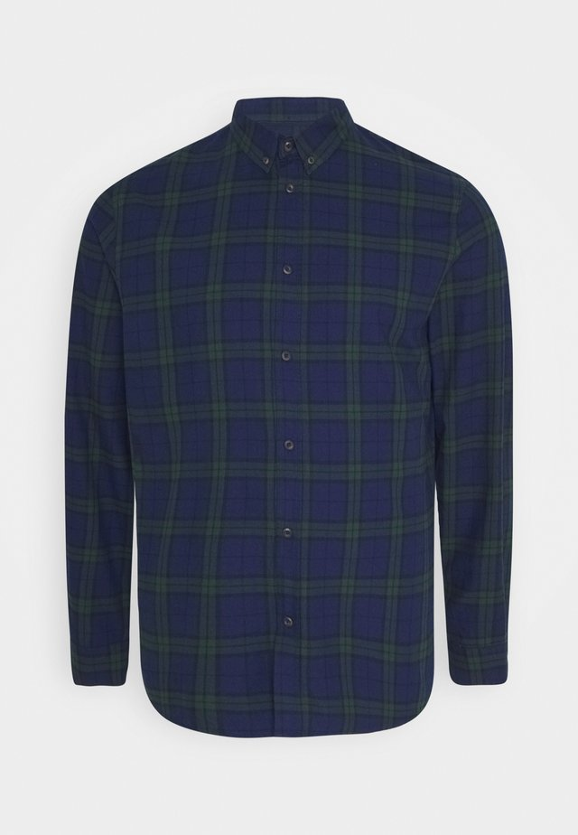Camicia - dark blue/green