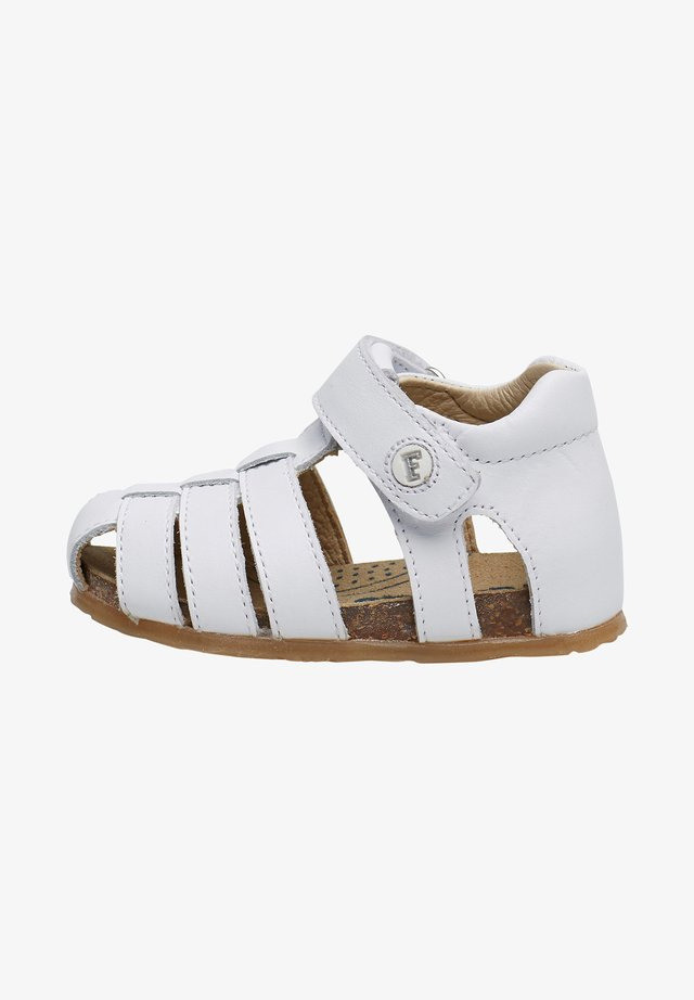 ALBY - Walking sandals - white