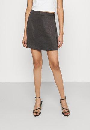 MINI SKIRT - Mini skirt - black