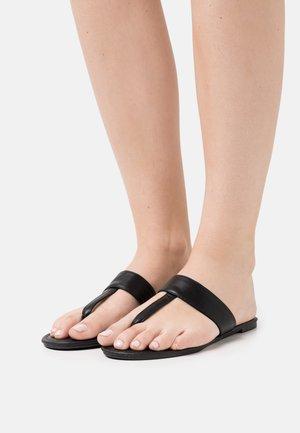 EVERYDAY POST SLIDE - T-bar sandals - black