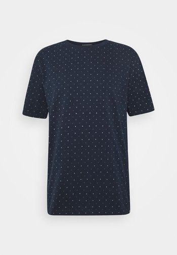 CLASSIC CREWNECK TEE WITH ALL OVER PATTERN