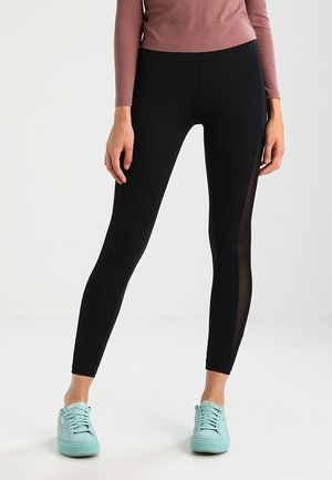 LADIES TECH STRIPE - Legging - black