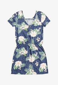 Roxy - THE CLOUDS - Jersey dress - mood indigo animalia - 0