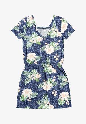 THE CLOUDS - Jersey dress - mood indigo animalia