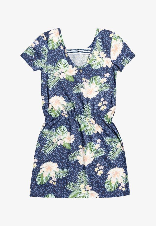 THE CLOUDS - Jerseyklänning - mood indigo animalia