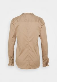 Mos Mosh - MATTIE  - Button-down blouse - light taupe - 1