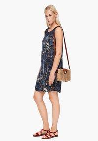 s.Oliver - Day dress - dark blue floral aop - 1