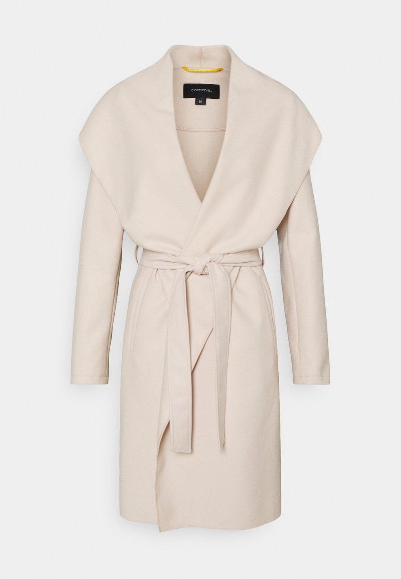 comma - Klasický kabát - ivory