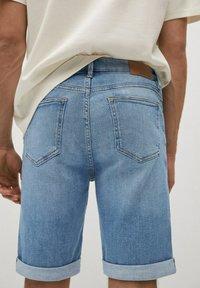Mango - Denim shorts - azul medio - 3