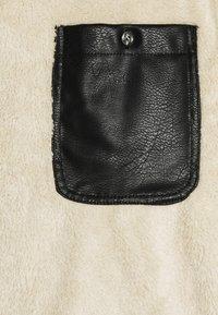 Weekday - UNISEX NELSON COAT - Faux leather jacket - black - 3
