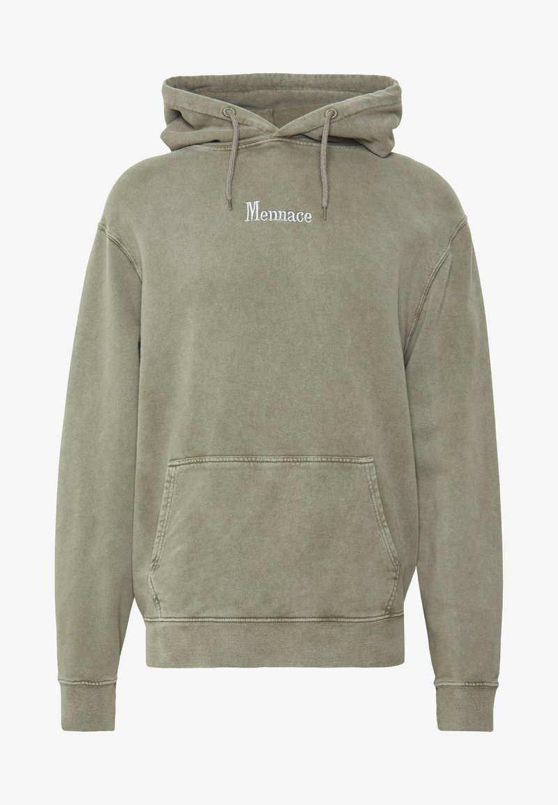 Mennace - WASHED PRIMARY - Hoodie - khaki