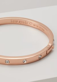 kate spade new york - HINGED BANGLE - Náramek - rose gold-coloured - 4