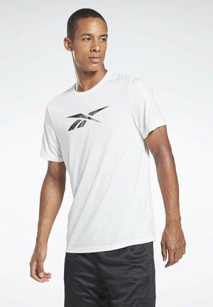 WORKOUT READY SPEEDWICK REECYCLED - T-Shirt print - white