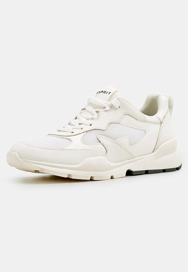 Esprit MIT MATERIAL-MIX - Baskets basses - white - Sneakers femme Dernier