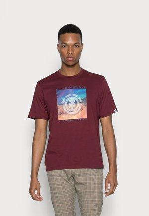DUSKY - Print T-shirt - vintage red