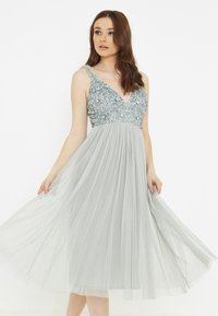 BEAUUT - MYAH - Cocktail dress / Party dress - sage green - 0